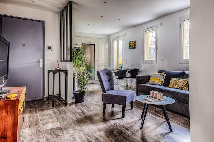 Bel appartement 2 pièces idéalement situé