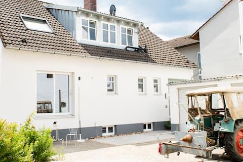 Διαμέρισμα στον κήπο σε πρώην αγρόκτημα κοντά στο Bamberg