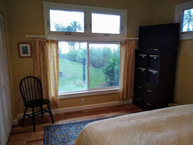 Carriage House Bedroom with Ocean View from the entire room