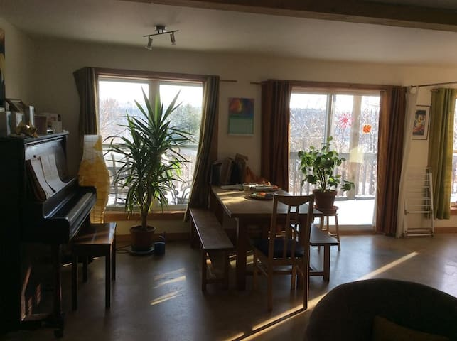 Appartement lumineux - Hatley - Apartment
