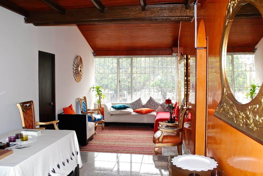 ak hostel 82 fabulosa casa en zona rosa bogot. Black Bedroom Furniture Sets. Home Design Ideas
