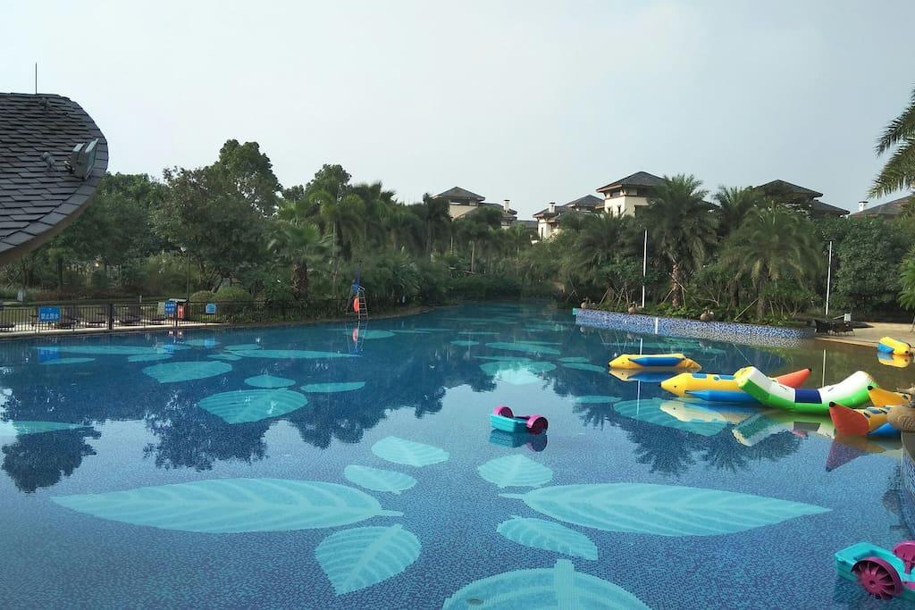 湖山温泉酒店主泳池