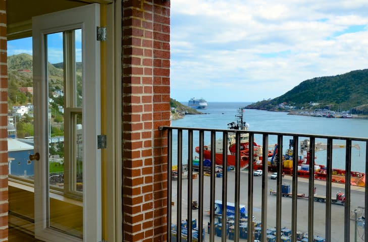 Commanding Harbour View in Historic St. John's