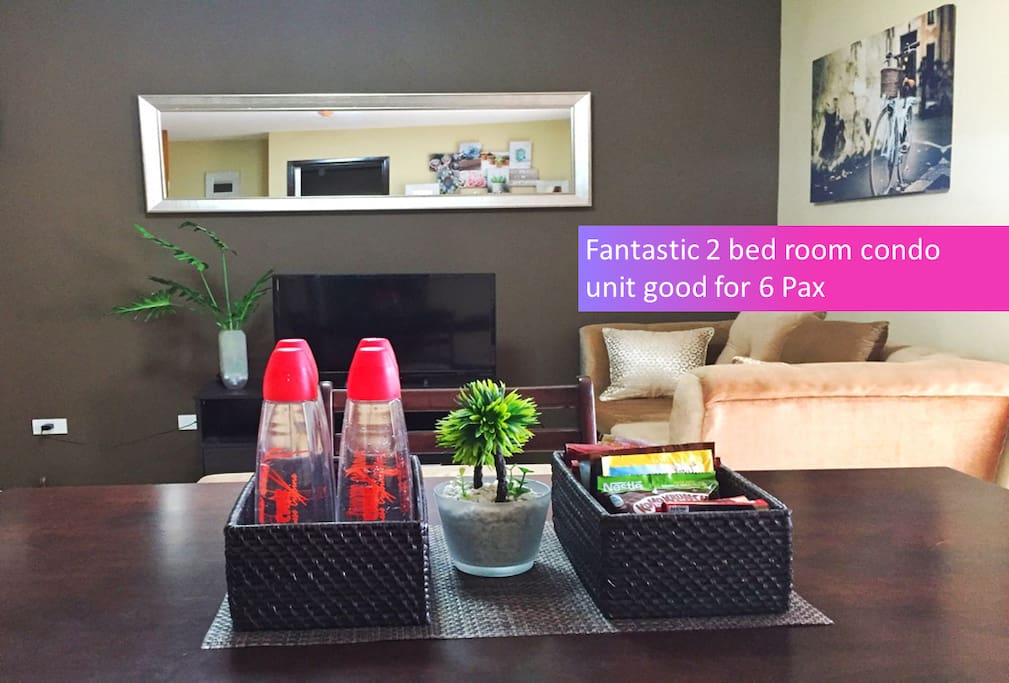 Fantastic 2 bed room in Resort Style Condo project - One Oasis Cebu
