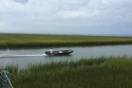 Fishing, birding & kayaker paradise - Bloxom - Byt