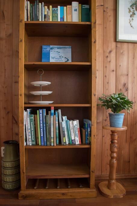 Boeken en folders over de omgeving