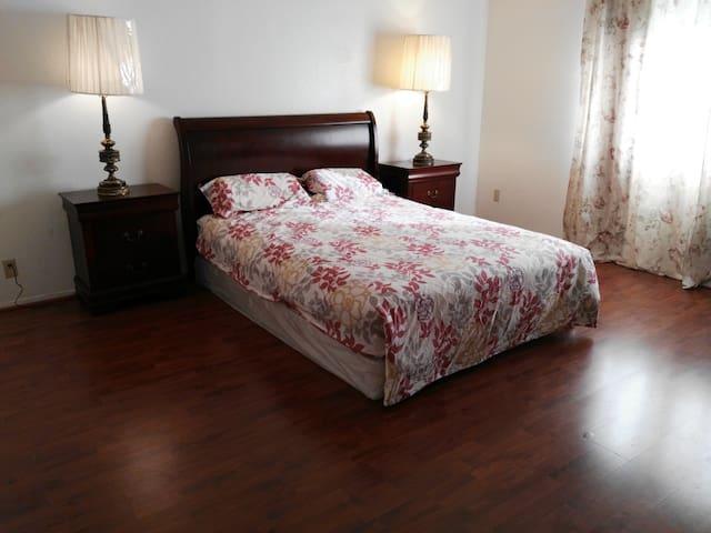 Furnished large luxury master suite