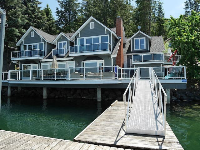 The BEST Waterfront Home - 2 minutes to town! - Hayden - Casa
