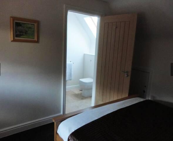 Bedroom 2 view to En-suite