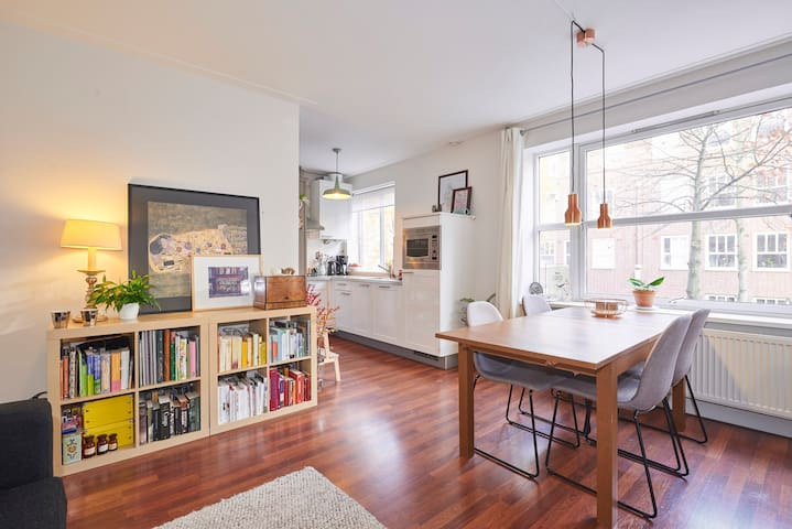 Cozy & light apartment in Amsterdam-West - Amsterdam - Appartement