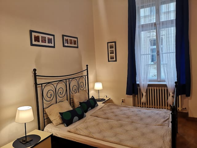 Center, 2 rooms,Prague 1, walk to Wenceslas Square