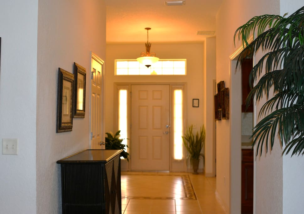 Front Door - Foyer