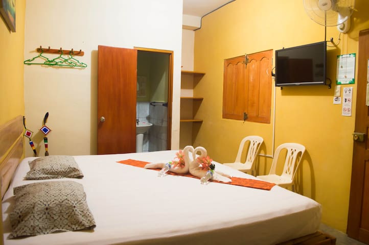 Cozy, neat & economic matrimonial room in Iquitos