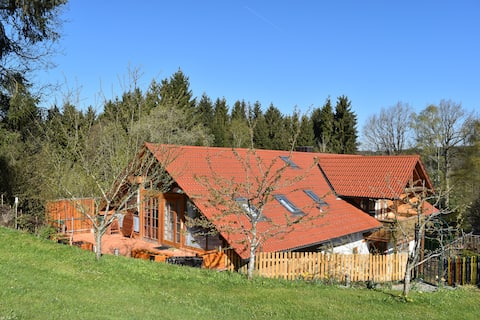 Haus in der Einöde, Allgäu, Oberschwaben