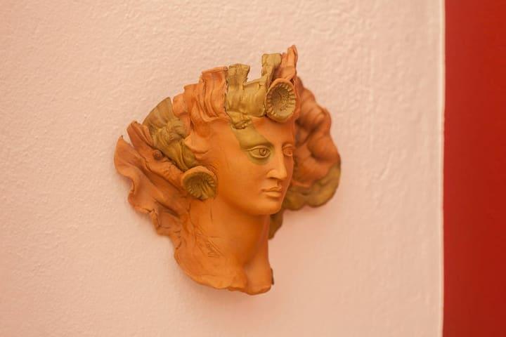 handmade ceramic decoration