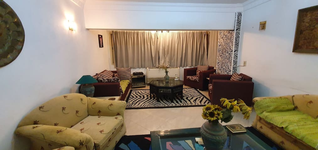 Cosy Apt in Sheikh Zayed away from city noise