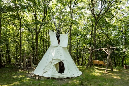 Magic Forest Farm Garden Tipi