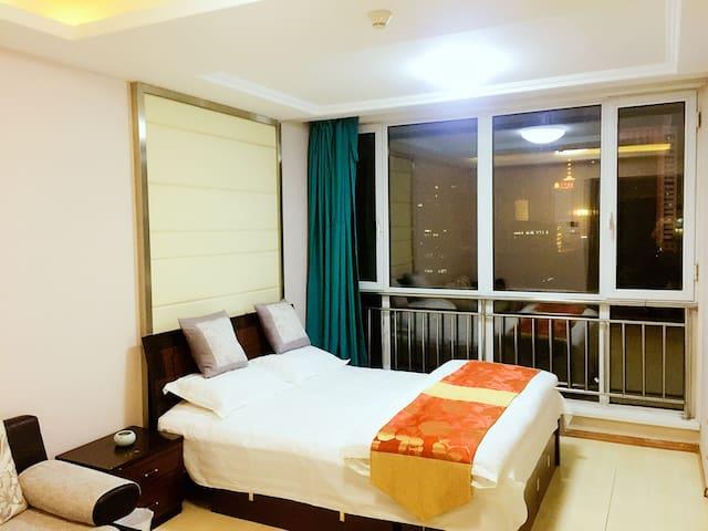舒适大床,沈阳站太原街商圈,干净舒适。 - Shenyang Shi - Apartment
