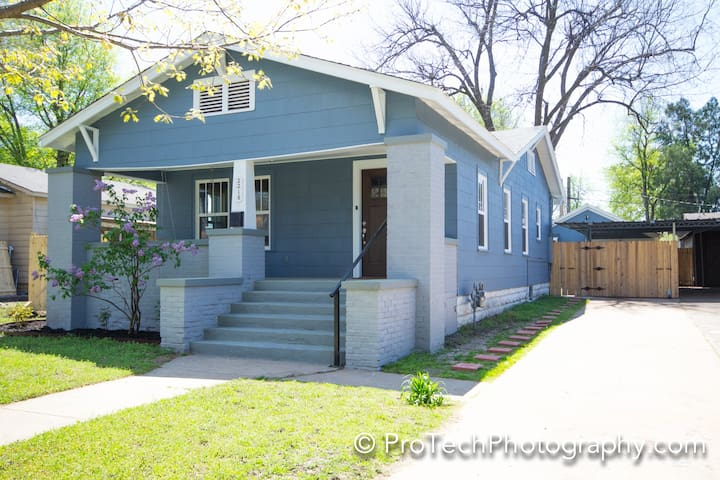Cozy whole home near downtown, BOK, Expo, Rt 66...