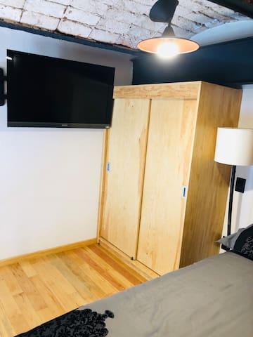 Tv y closet