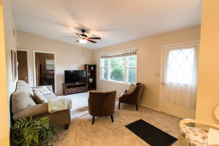 Easy Access just off 87 spacious and comfortable