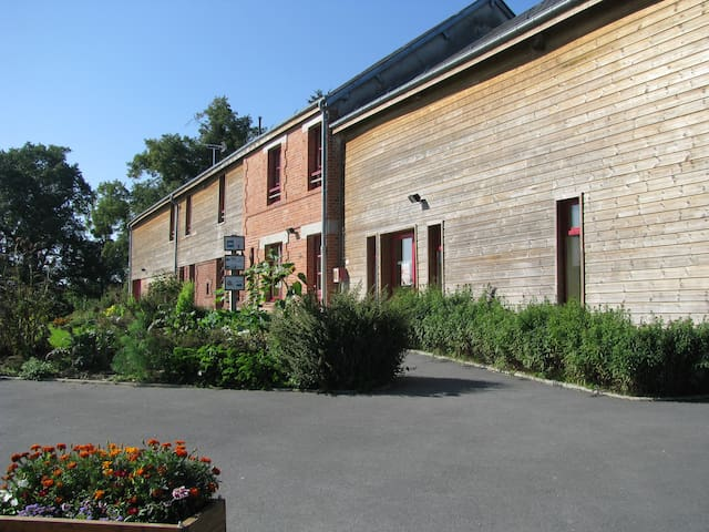 Gîte dans une ferme pédagogique