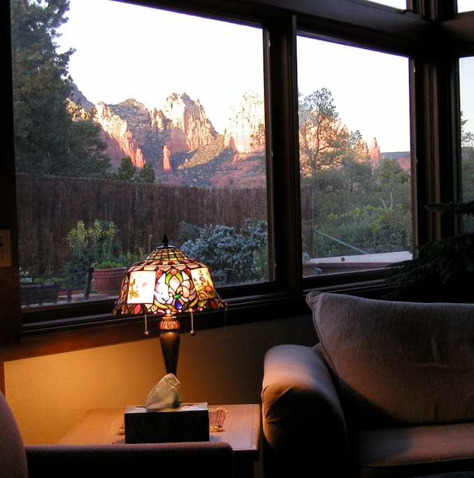Gorgeous Views from the Living Room