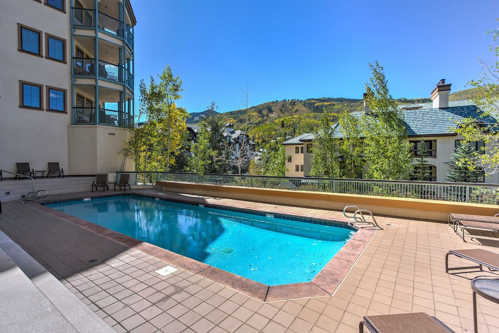 Leave your worries behind and enjoy refreshing dips in the heated community pool.