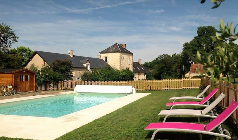 Domaine de Montgenoux Gîte de charme à la campagne