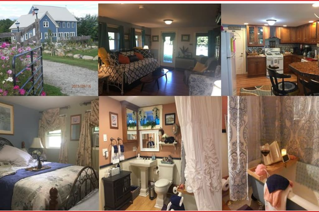 Here is an overview of The Denmark Stage Stop House's Shawnee Suite in Denmark Maine.  Click through the pictures for details views of the Shawnee Suite now with the convenience of Amazon's Echo and Alexa in every room.