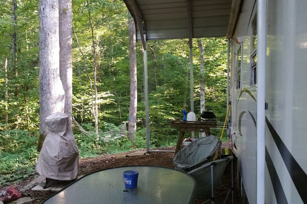 Front Porch of Trailer