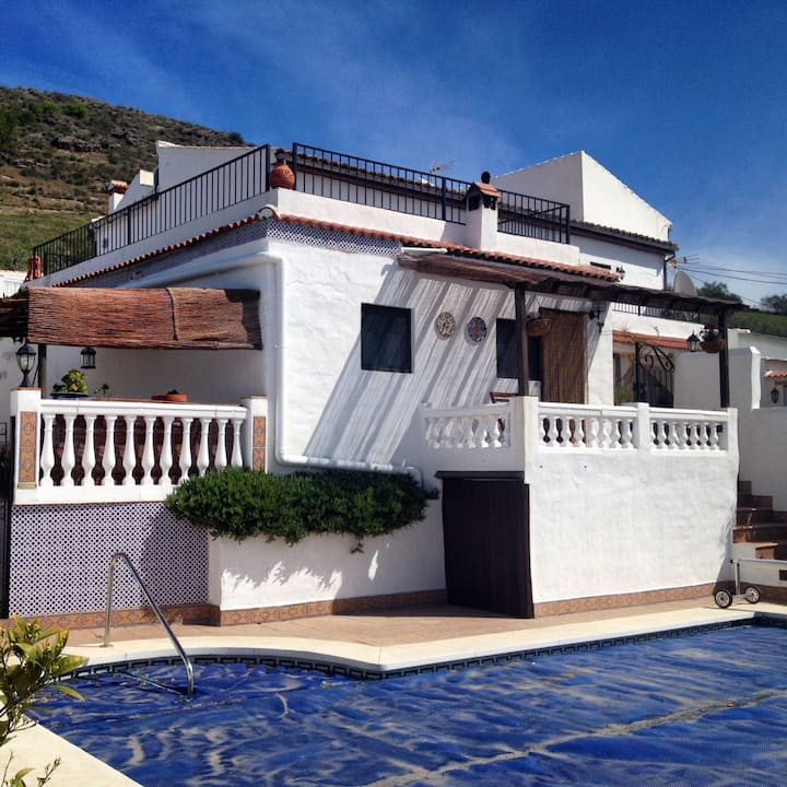 Lovely villa in the heart of Andalucia