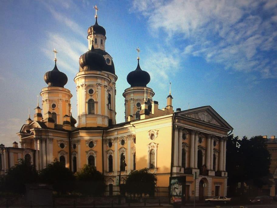 Владимирский собор (пешком 2 минуты)