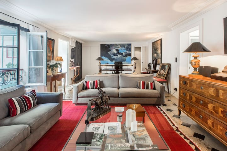 Beautiful Typical Parisian Apartment in the 7th - París - Pis