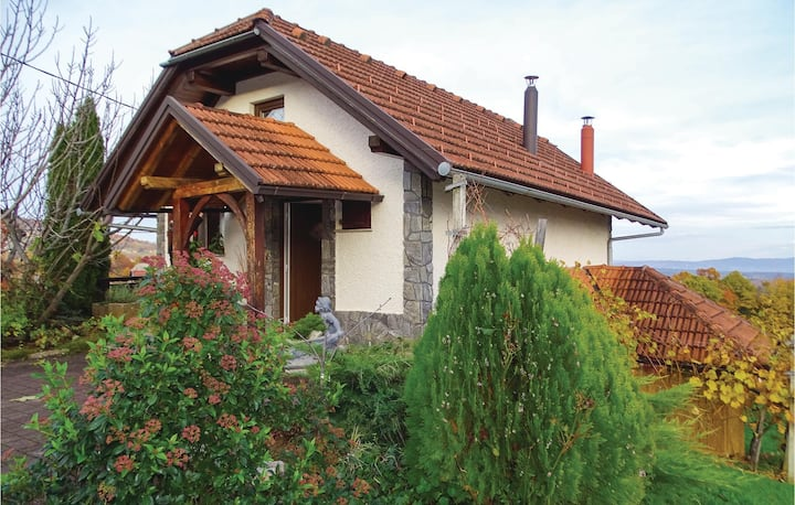 Awesome home in HR-8340 Crnomelj with 1 Bedrooms