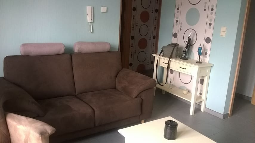 Appartement neuf joliment aménagé