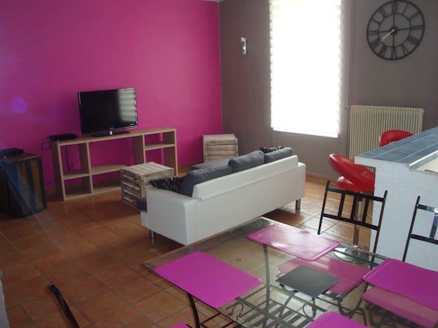 appartement avec cour privée intime - Capestang - Lägenhet