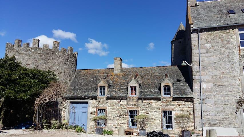 La maison bleue - Les Pieux - Casa
