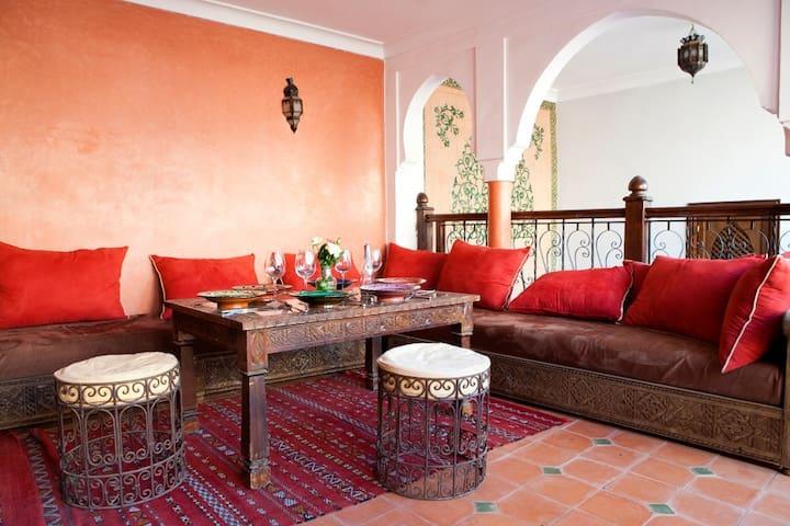 Magnifique Chambre dans Riad Exceptionnel