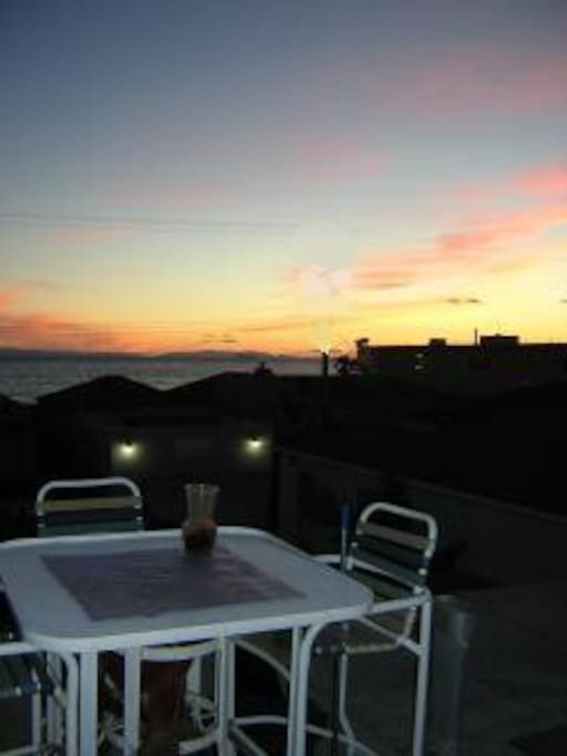 Enjoy Sunsets from Large  Private Deck 25ft X 12ft  ...