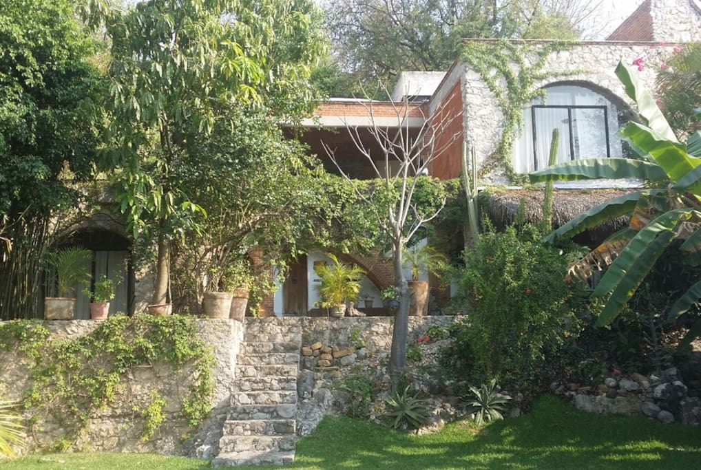 Vista desde el jardín