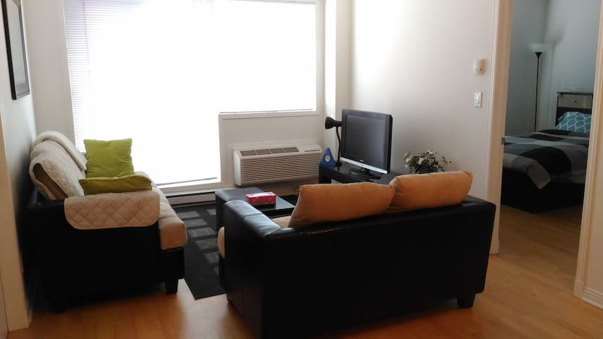 Nice condo in Downtown Montreal with free parking - Montréal - Condominium