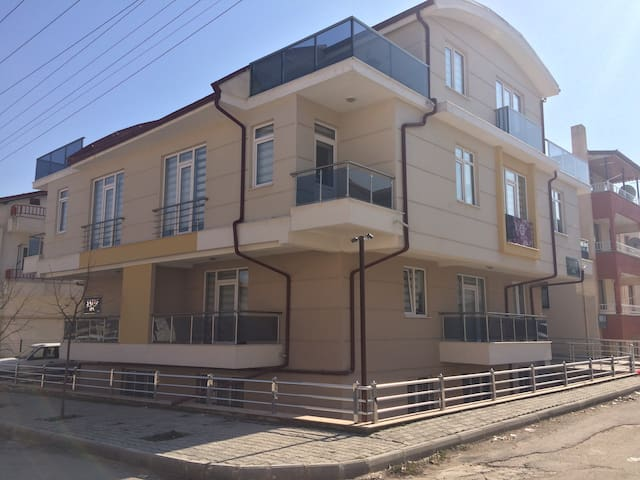 1+1  lüks apart(your house in Isparta)