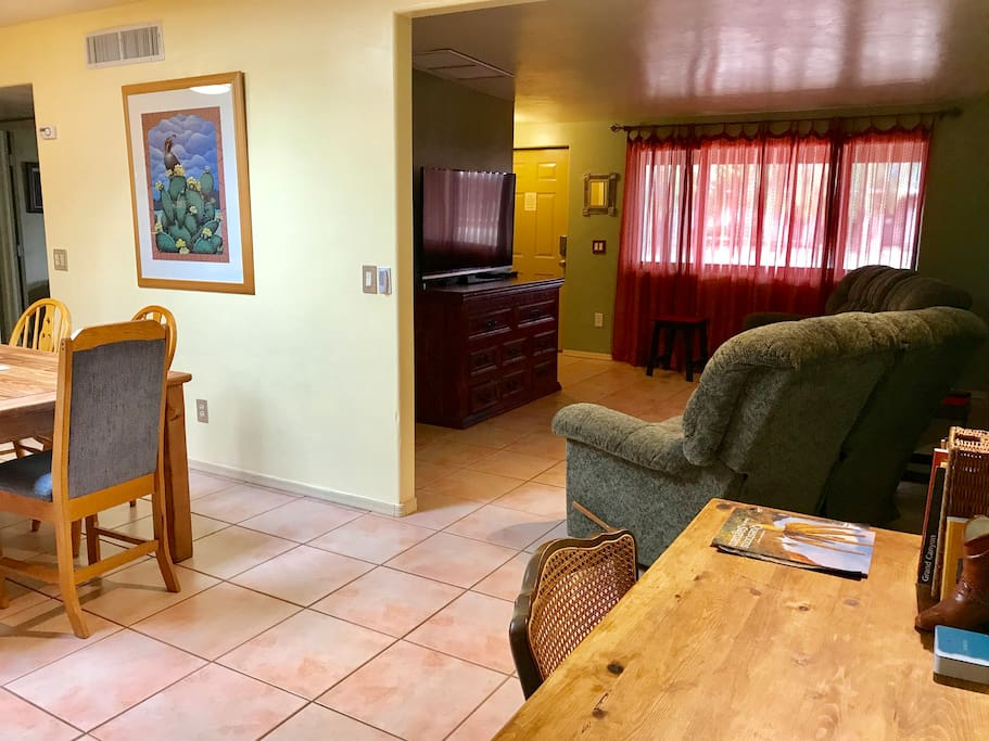 Casa Coyote 4 Bedroom Home Sleeps 12 In Comfort Houses For Rent In Tucson Arizona United States
