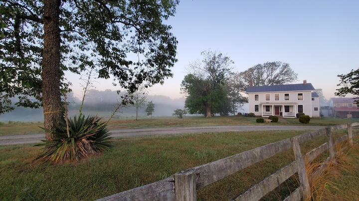 Modern 18th century farmhouse