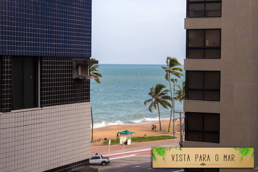 vista do mar
