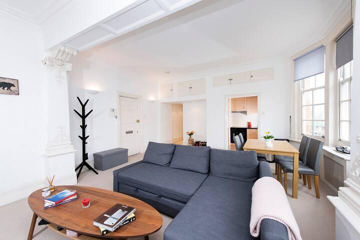 Elegant living in Kensington