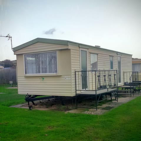 Caravan holiday  Chapel st Leonard weeks available