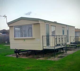 Caravan holiday  Chapel st Leonard weeks available