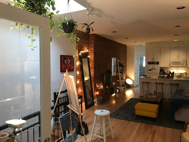 Loft Style Bushwick Apartment